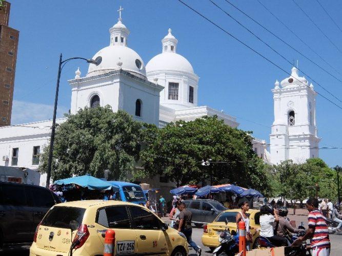 Die Kathedrale von Santa Marta
